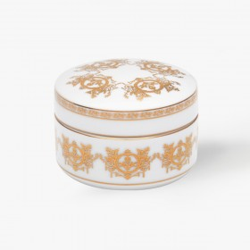 Porcelain Box, Imperial collection , white