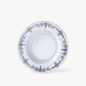 Rim soup plate, 'Marthe' Collection