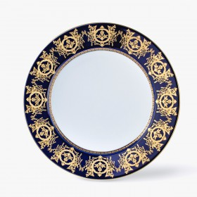 Plain underplate, 'Imperial' Collection, Blue