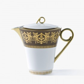 Coffee or tea pot, 'Imperial' Collection, Taupe
