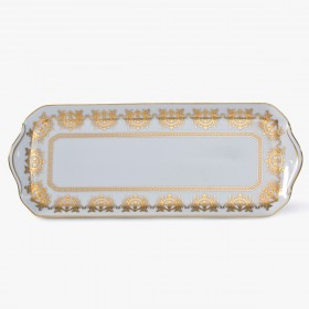 Cake plate, 'Imperial' Collection, White