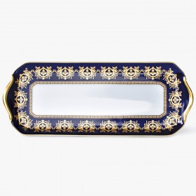Cake plate, 'Imperial' Collection, Blue