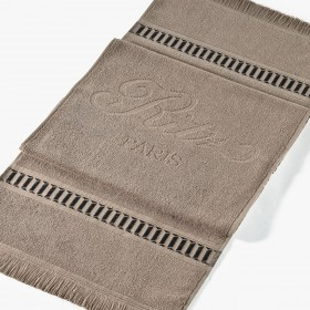 Taupe sporting towel