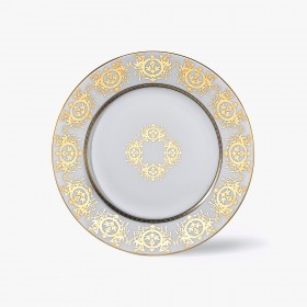Decorated underplate, 'Imperial' Collection, White