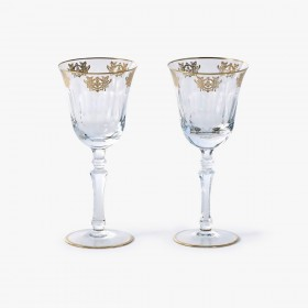 2 White Wine Glasses Set, Imperial Collection