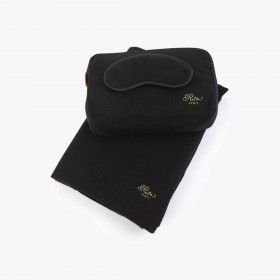 Cashmere travel set, Black