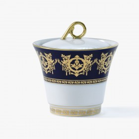 Sugar bowl, 'Imperial' Collection, Blue