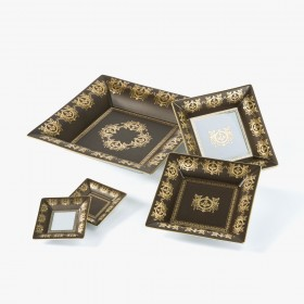 Taupe 'Imperial' Collection change tray