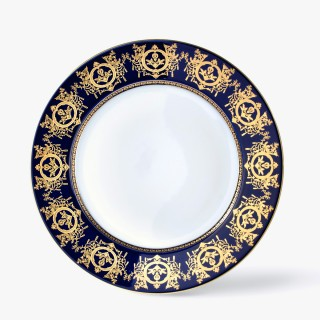 Rim soup plate, 'Imperial' Collection, Blue