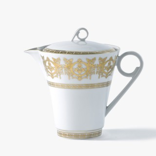Coffee or tea pot, 'Imperial' Collection, White