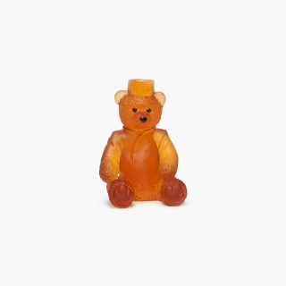 The Ritz Paris Amber Teddy Bear by Daum
