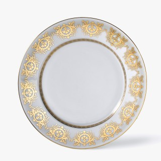 Pie plate, 'Imperial' Collection, White