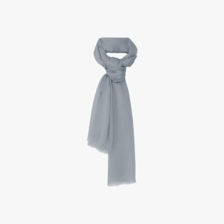 Women's cashmere stole Pearl Gray