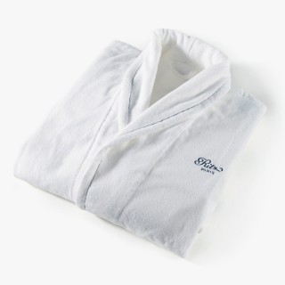 Women's bathrobe, Yachting collection, white