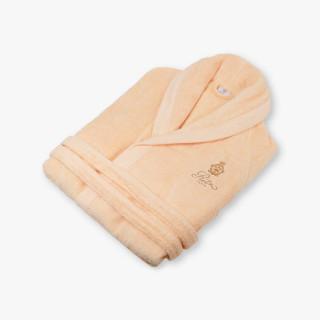 Men/Women's peach bathrobe
