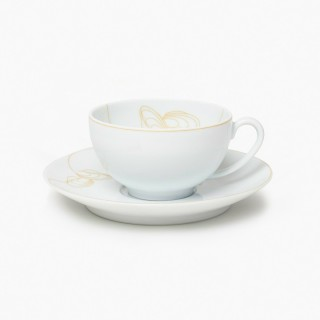 One Teacup and Saucer, The Art of Tea Collection