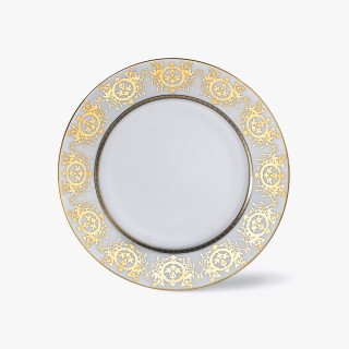 Large dinner plate, 'Imperial' Collection, White