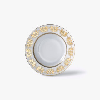 Rim soup plate, 'Imperial' Collection, White