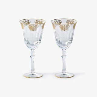 2 Red Wine Glasses, Imperial Collection