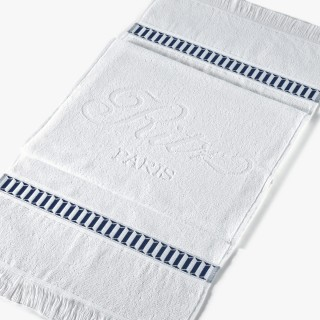 White sporting towel