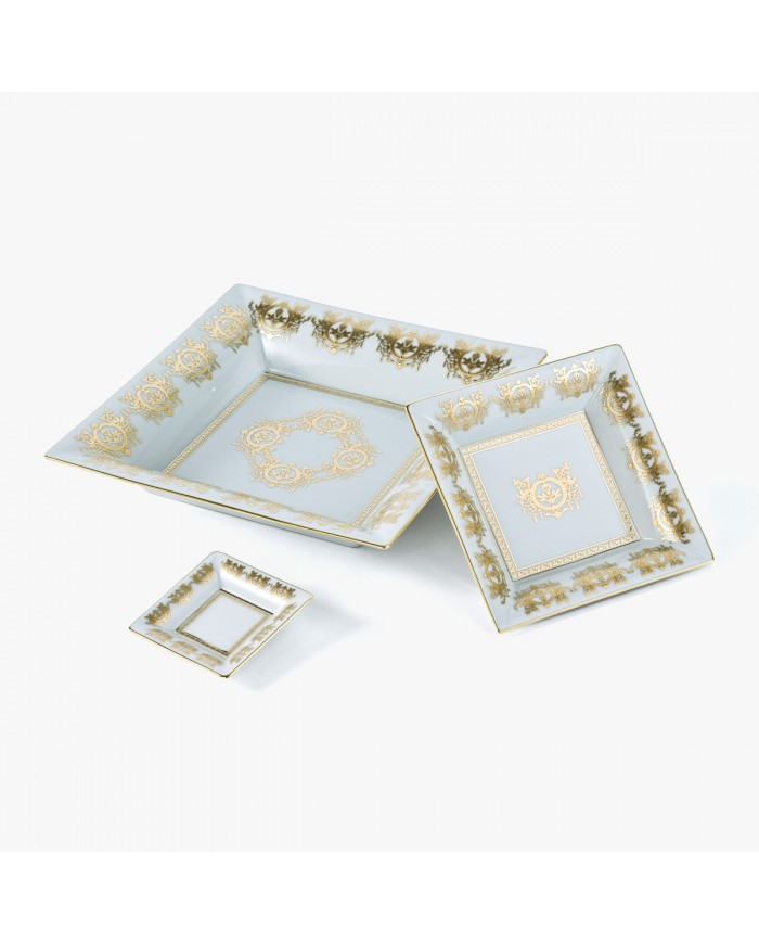White 'Imperial' Collection change tray