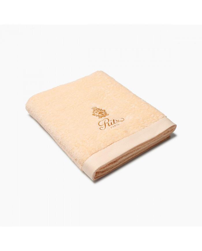 Peach bath towel