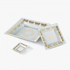 Vide-poches 'Impérial' blanc