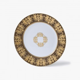 Assiettes, Collection 'Impérial', taupe