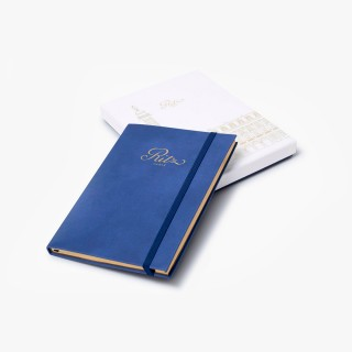 Cahier de Notes Bleu Ritz Paris